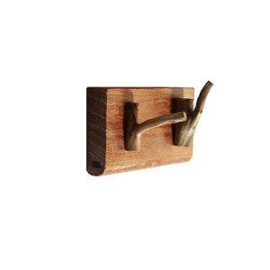 Porta-Chave 2 Ganchos 10x6,6cm