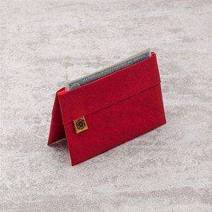 Minicarteira Loug – Vermelha