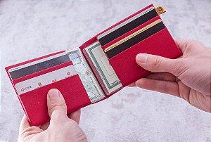 Carteira Loug – Vermelha Lisa