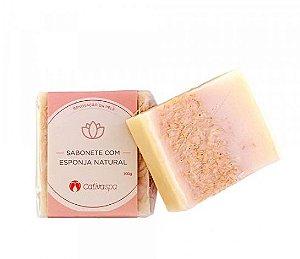 Sabonete com Esponja Natural Cativa SPA 100g