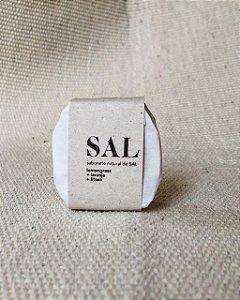 Sabonete natural de Sal