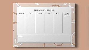 Planner Semanal Boho III