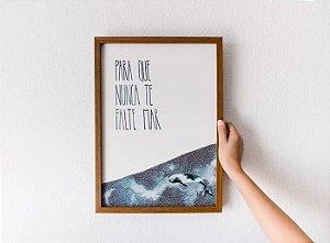 Print A3 | Para Que Nunca Te Falte Mar