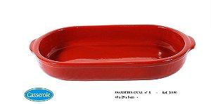 ASSADEIRA OVAL N.5 MARROM REF 20150 - CASSEROLE