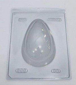 Forma especial com silicone ovo de páscoa 350g - ref 50 -com 1 unidade