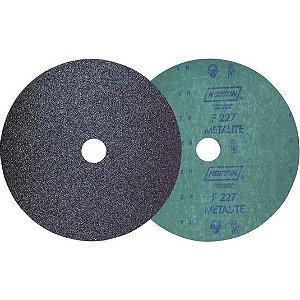 """Disco Lixa de Fibra 4.1/2"""" Grão 100 F227 Norton"""