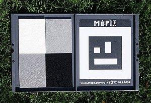 Alvo de solo Mapir para calibração de reflectância de câmeras