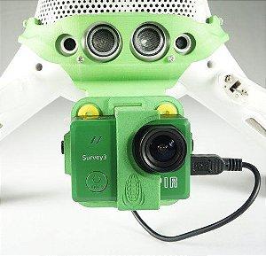 Suporte inclinação Mapir para câmeras Survey 3 DJI Phantom 4