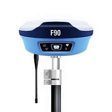 Par de receptores GNSS RTK Unistrong modelo F90 com rádio externo
