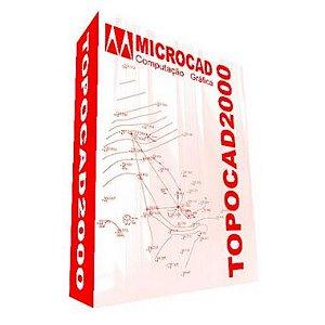 Software TOPOCAD 2000 Versão 15
