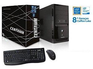 Computador Desktop Linux Computador Thinline 5400 Intel Pentium G5400 3.7ghz 4gb Ddr4 120gb Ssd Linux