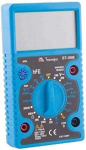 Multímetro Digital Minipa ET-1000