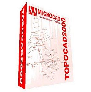 Software TOPOCAD 2000 Versão 15 (digital)