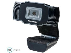 Webcam AC339 Office Hd 720P com microfone embutido usb preta