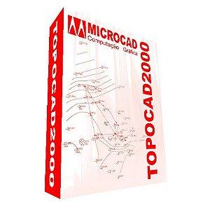 Software TOPOCAD 2000 Versão 16 (digital)