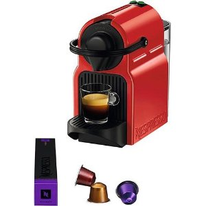 Cafeteira Nespresso expresso vermelha