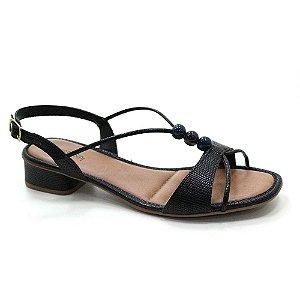 Sandália Salto Baixo Mississipi Q3692