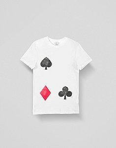 Camiseta Coração de Jogador Branca
