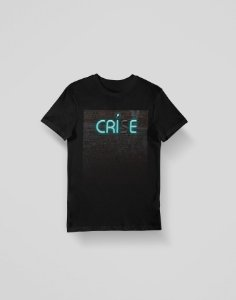 Camiseta Crie - Preta