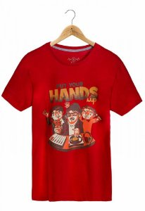 Camiseta Put Your Hands Up