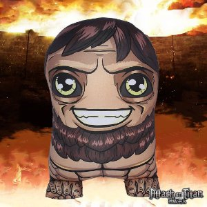 Almofada Fofuritos Titã Bestial - Attack On Titan