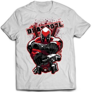 Camiseta Deadpool - Guns
