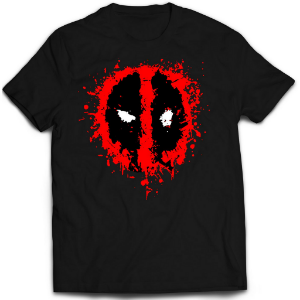 Camiseta Deadpool - Splash
