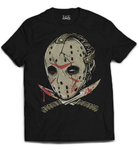 Camiseta Jason - Death Mask