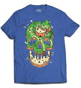 Camiseta Mario Bros - Skull Island