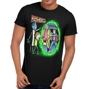Camiseta Rick And Morty - Back to the Multiverse