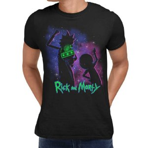 Camiseta Rick And Morty - Space Jam