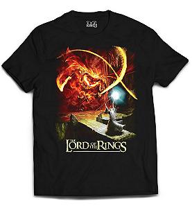 Camiseta Senhor dos Anéis - Abismo Negro