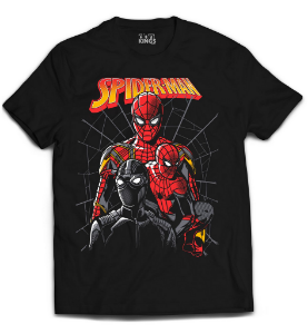 Camiseta Spider Man - Spiders