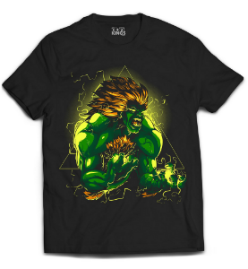Camiseta Street Fighter - Blanka Fera