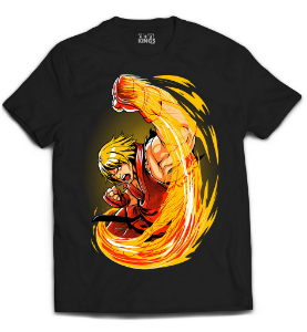 Camiseta Street Fighter - Ken Fighter