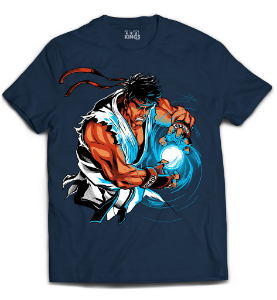 Camiseta Street Fighter - Ryu Hadoken