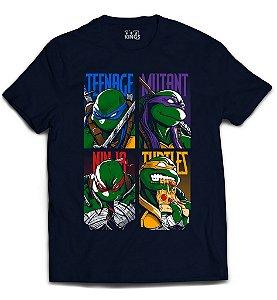 Camiseta Tartaruga Ninja - Tartarugas Mutantes