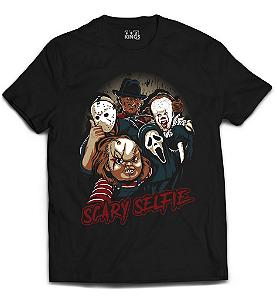 Camiseta Terror - Scary Selfie
