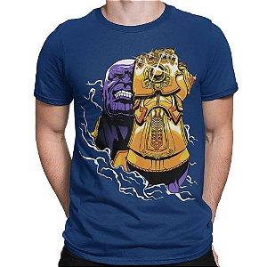 Camiseta Vingadores - Thanos Manopla