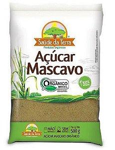 AÇÚCAR MASCAVO ORGÂNICO 500G