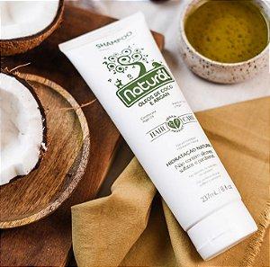 Shampoo Natural com Óleos de Coco e Argan