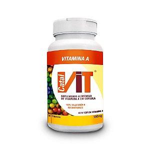 Vitamina A - Suplemento Vitamínico 90 Cáps.