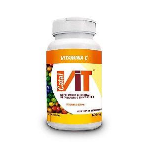 Vitamina C - Suplemento Vitamínico 90 Cáps.