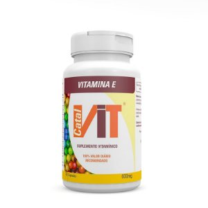 Vitamina E - Suplemento Vitamínico 90 Cáps.
