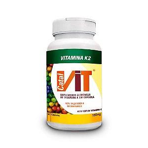 Vitamina K2 - Suplemento Vitamínico 90 Cáps.
