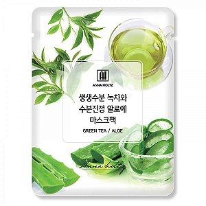 Máscara Facial - Green Tea & Aloe 25ml