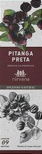 Incenso Natural Nirvana Pitanga Preta