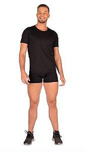 Blusa masculina, justa, manga curta de leve compressão com Tecnologia Emana®