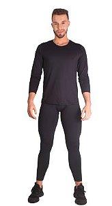 Legging masculina de média compressão com Tecnologia Emana®