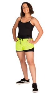 Shorts Maratonista com Tela - Alta Compressão